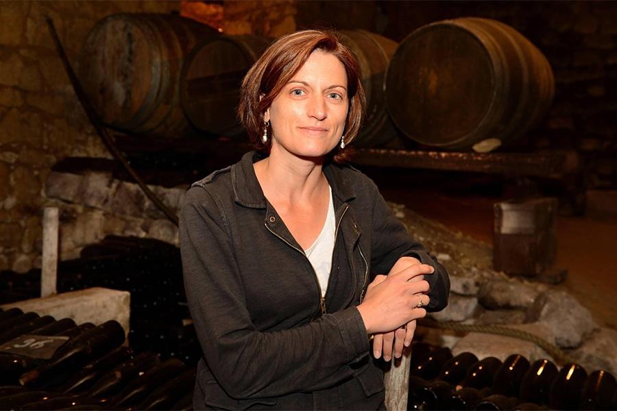 Amélie Neau vigneronne à Saint Cyr en Bourg