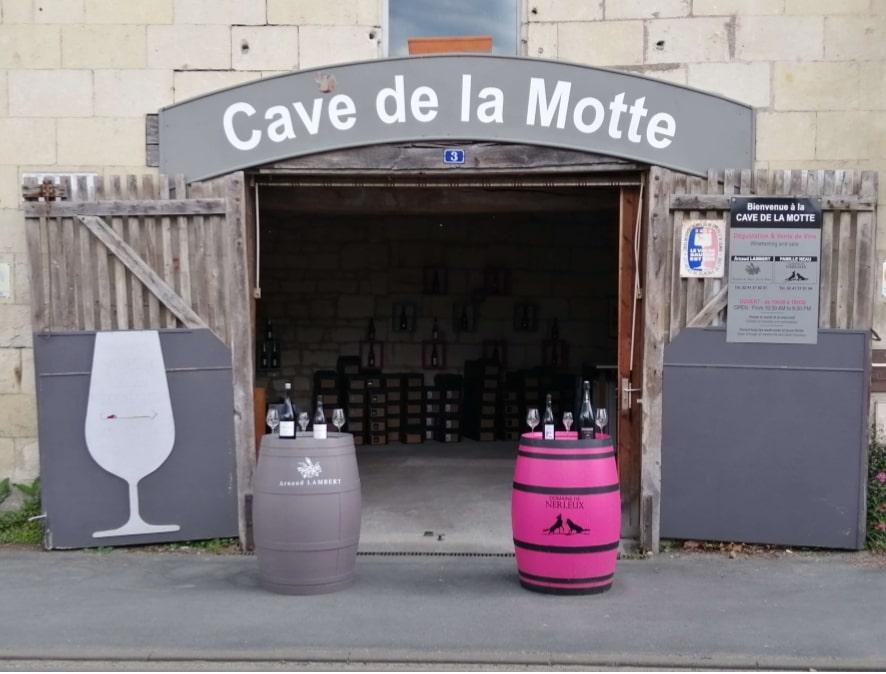 Cave de la Motte Nerleux à Montsoreau