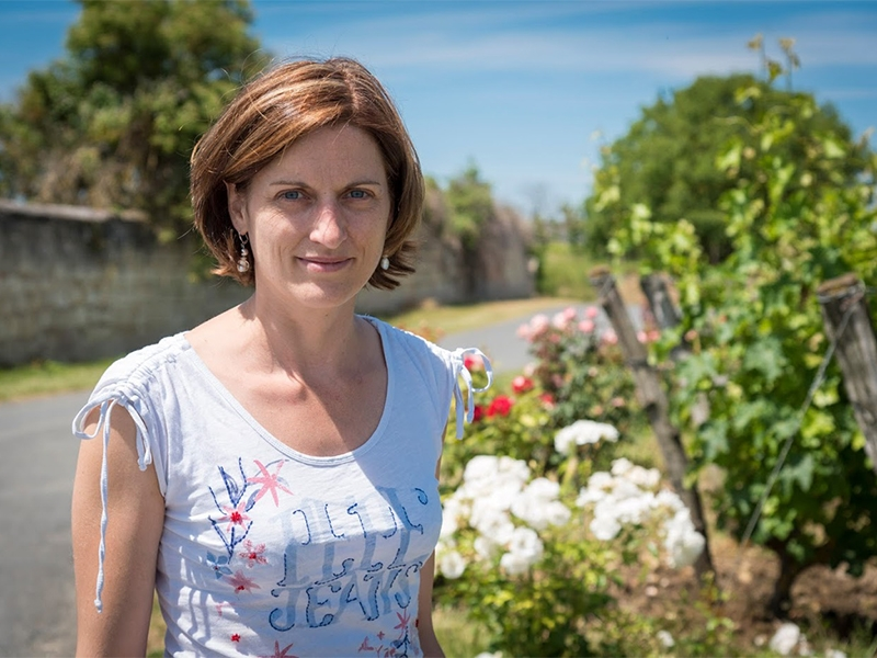 Vigneronne amélie neau Saumur